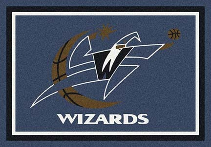 "Washington Wizards 3' 10"" x 5' 4"" Team Spirit Area Rug"