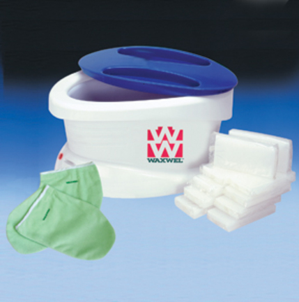 WaxWel™ Paraffin Bath with 6 lb. Unscented Paraffin