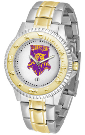 Weber State Wildcats Competitor Two Tone Watch