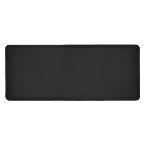 WellnessMats FIT6BLK 6 ft. FitnessMat in Black