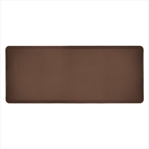 WellnessMats FIT6BRN 6 ft. FitnessMat in Brown