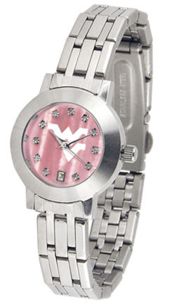 West Virginia Mountaineers Dynasty Ladies Watch with Mother of Pearl Dial