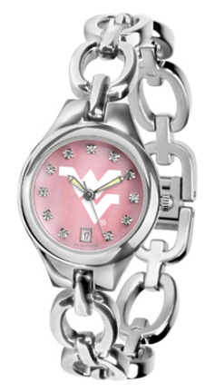 West Virginia Mountaineers Eclipse Ladies Watch with Mother of Pearl Dial