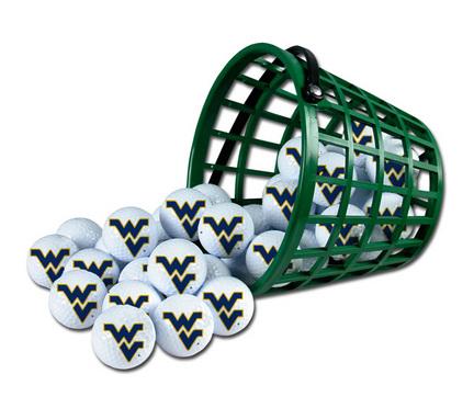 West Virginia Mountaineers Golf Ball Bucket (36 Balls)