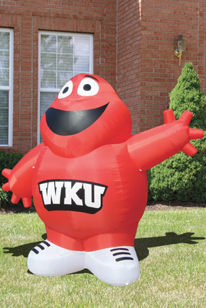 "Western Kentucky Hilltoppers ""Big Red"" 6' Team Inflatable"