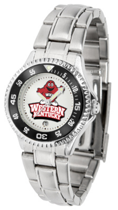 Western Kentucky Hilltoppers Competitor Ladies Watch with Steel Band