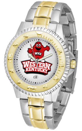 Western Kentucky Hilltoppers Competitor Two Tone Watch