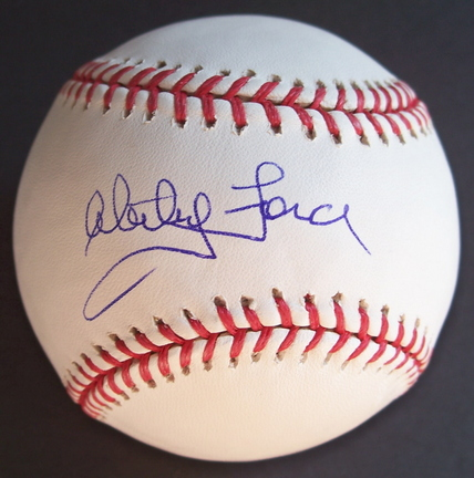 Whitey Ford Autographed Official MLB Baseball