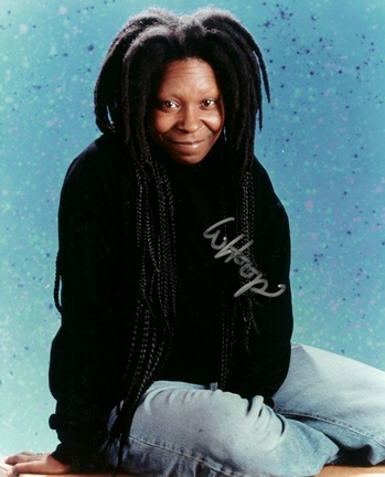"Whoopi Goldberg Autographed 8"" x 10"" Photograph (Unframed)"