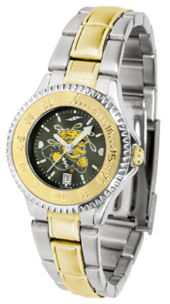 Wichita State Shockers Competitor AnoChrome Ladies Watch with Two-Tone Band
