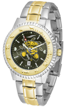 Wichita State Shockers Competitor AnoChrome Two Tone Watch