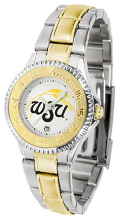 Wichita State Shockers Competitor Ladies Watch with Two-Tone Band