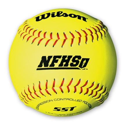 """Wilson A9011BSST NFHS 12"""" Fastpitch Softballs (1 Dozen)"""