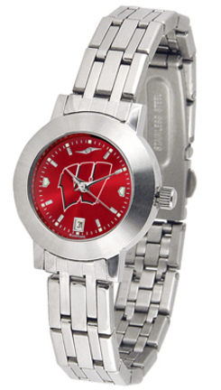 Wisconsin Badgers Dynasty AnoChrome Ladies Watch
