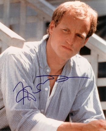 "Woody Harrelson Autographed 8"" x 10"" Photograph (Unframed)"