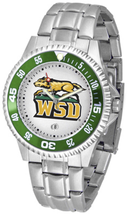 Wright State Raiders Competitor Men's Watch with Steel Band