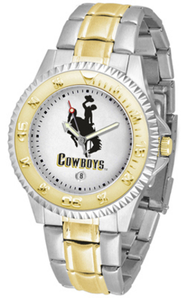 Wyoming Cowboys Competitor Two Tone Watch