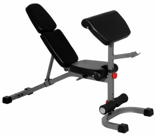 XMark Fitness XM-4417 FID Weight Bench with Preacher Curl