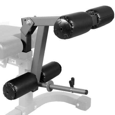 XMark Universal 11-Gauge Adjustable Leg Curl - Extension Attachment XM-7455