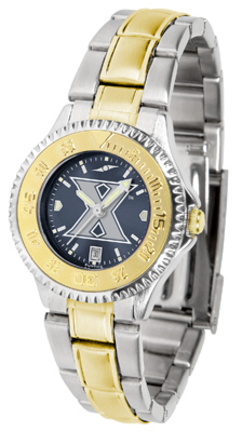 Xavier Musketeers Competitor AnoChrome Ladies Watch with Two-Tone Band