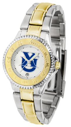 Xavier Musketeers Competitor Ladies Watch with Two-Tone Band