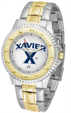 Xavier Musketeers Competitor Two Tone Watch