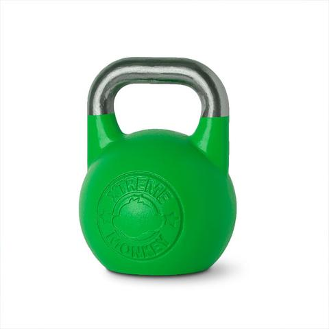Xtreme Monkey XM-3193 24 kg Steel Competition Kettle Bells - Green & Silver