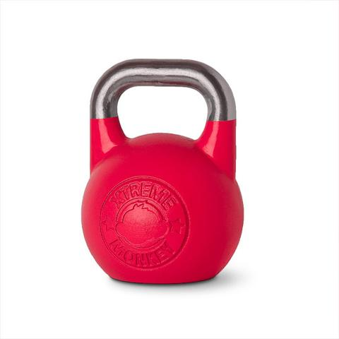 Xtreme Monkey XM-3194 32 kg Steel Competition Kettle Bells - Red & Silver