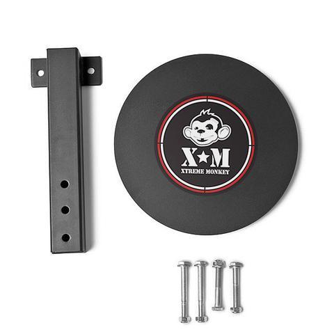 Xtreme Monkey XM-4208 14 dia. Rig Wall Ball Target - Black