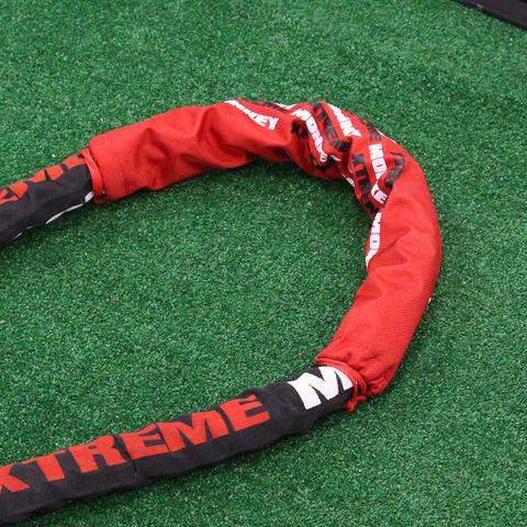 Xtreme Monkey XM-4506 23 in. Undulation Rope Shield - Red