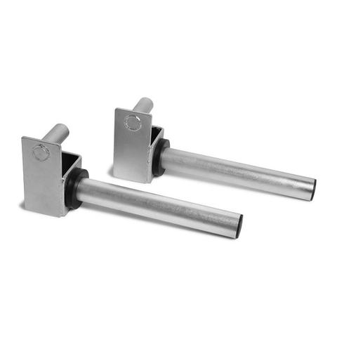 Xtreme Monkey XM-4571 2 dia. Weight Plate Storage Pegs for 365 Power Rack Accessory - Silver