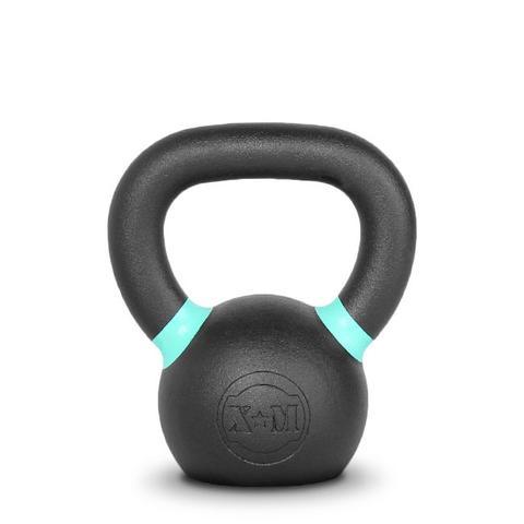 Xtreme Monkey XM-4601 6 kg Commercial Cast Iron Kettle Bells - Black & Blue