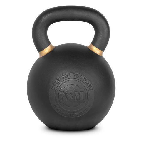Xtreme Monkey XM-4613 48 kg Commercial Cast Iron Kettle Bells - Black & Gold