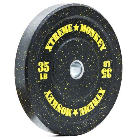 Xtreme Monkey XM-5145 Crumb Rubber Bumper - Yellow