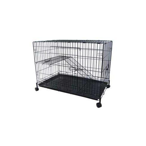 YML CT29 36 x 23 x 29 2 Level Pet Cage - Black