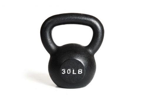 York Barbell 15130 30 lb. Kettlebell