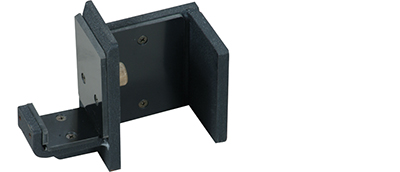 York Barbell 54012 Single Bar Holders Black - Set of 2