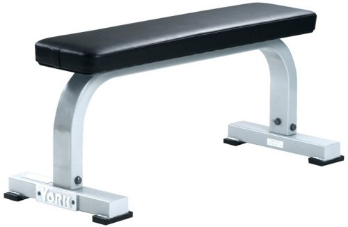 York Barbell 54026 Flat Bench White