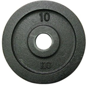 York Barbell 7373 Uncalibrated Standard Kilo Olympic Plate - 10 kg