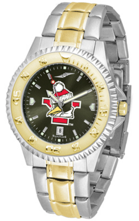 Youngstown State Penguins Competitor AnoChrome Two Tone Watch
