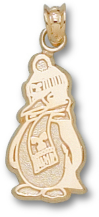 "Youngstown State Penguins ""Penguin"" Pendant - 10KT Gold Jewelry"