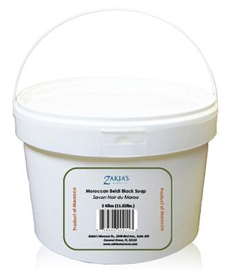 Zakias Morocco Sop-106 -Pro 5 K Moroccan Rose Soap Black