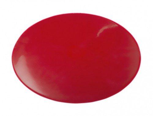 10 in. dia. Dycem Non-Slip Circular Pad Red
