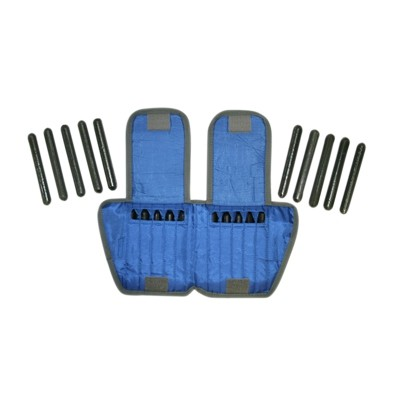 10 lbs Cando Adjustable Ankle Weight Blue - Each