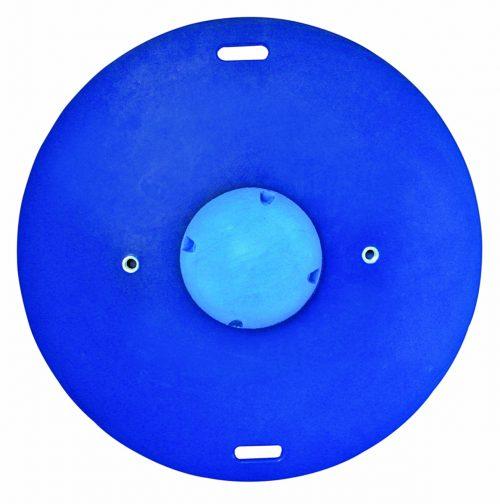 16 in. Balance Combo Circular Wobble & Rocker Board Blue