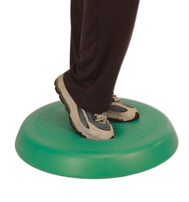 20 in. dia. & 2 in. Thick Cando Balance Circular Pad Green