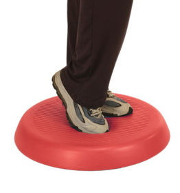 20 in.dia. & 2 in. Thick Cando Balance Red Circular Pad