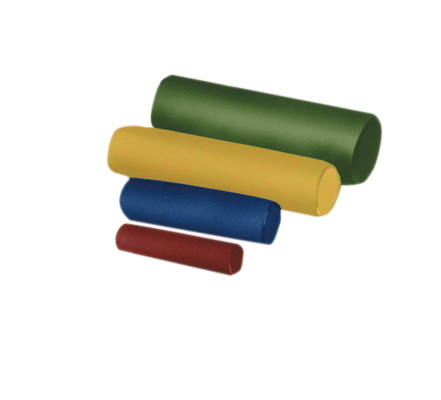 24 x 6 in. dia. Cando Roll Foam with Vinyl Cover Firm
