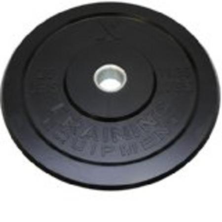 25 lbs. rubber bumper plate