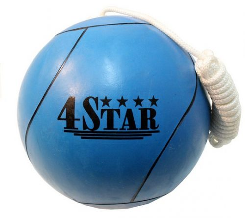 383 New Blue Tether Ball for Play Grounds & Picnics with Rope